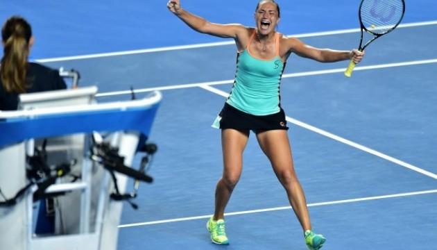 Катерина Бондаренко піднялася на 19 позицій у рейтингу WTA