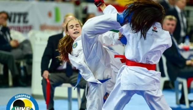 Українські каратисти здобули 8 медалей ЧЄ на Кіпрі