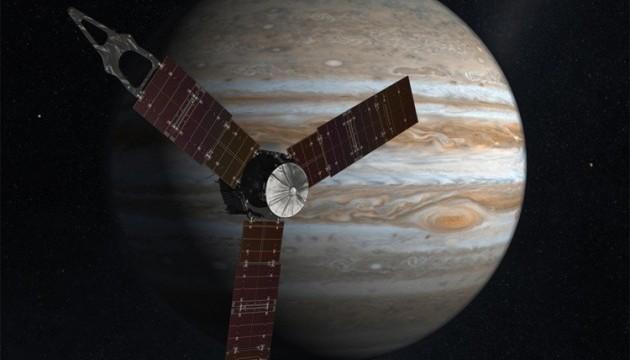 Американський зонд Juno вийшов на траєкторію зближення з Юпітером