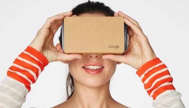 Google створить нові окуляри віртуальної реальності
