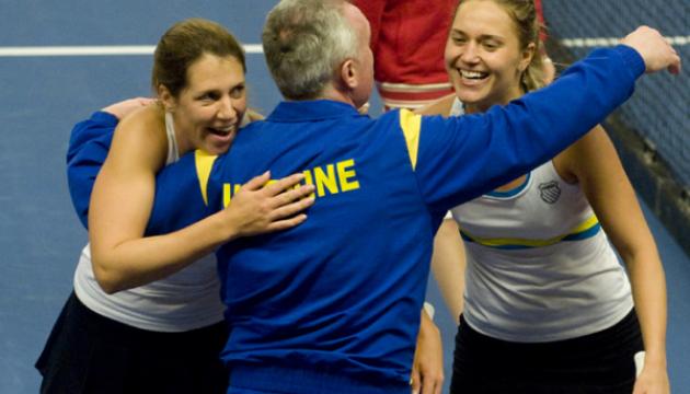 Українські тенісистки отримали суперниць в Кубку Федерації