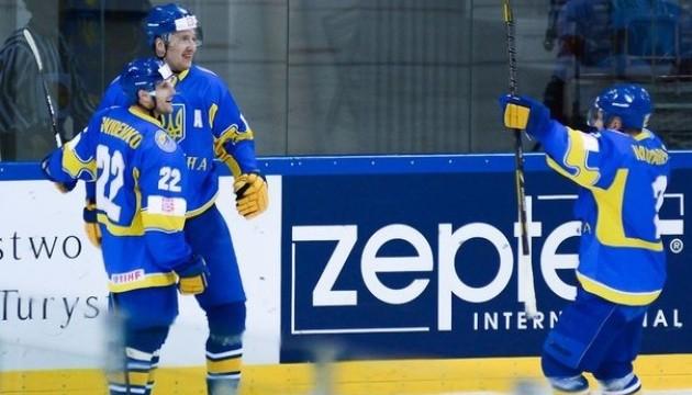Збірна України з хокею успішно почала олімпійську кваліфікацію