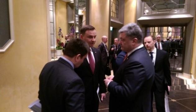 Порошенко і Дуда домовились про зустріч консультаційного комітету