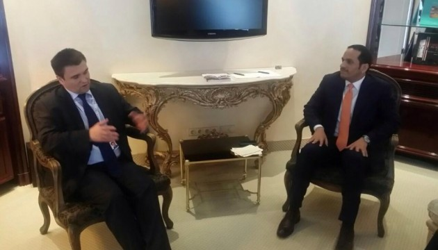 Глави МЗС України і Катару обговорили двосторонні відносини