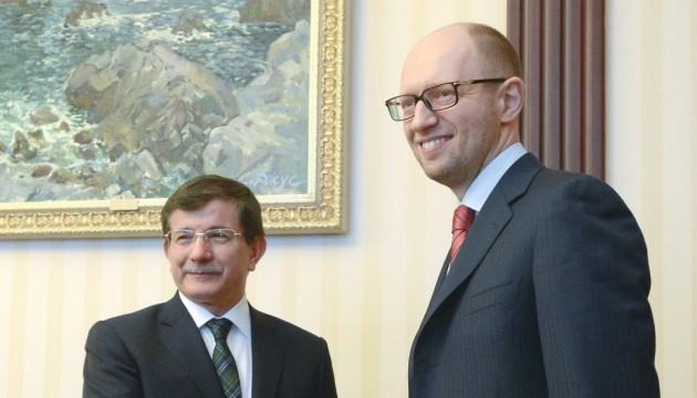Яценюк і Давутоглу зустрінуться у Києві