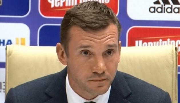 Шевченко: Мій досвід допоможе гравцям збірної вийти на новий рівень