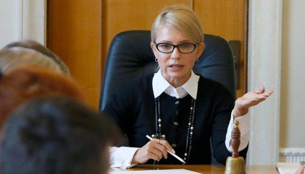 Тимошенко: Я не можу сказати, що ми домовилися з Порошенком