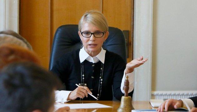 Тимошенко каже, що їй не потрібні посади в уряді