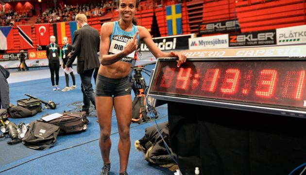 Ефіопка побила 26-річний світовий рекорд з бігу