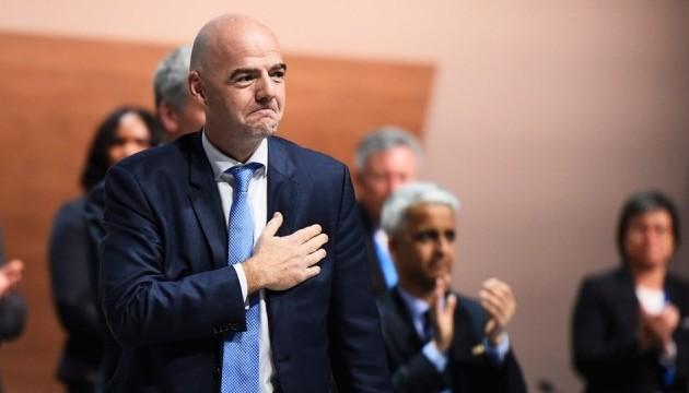 У ФІФА закрили справу проти Інфантіно
