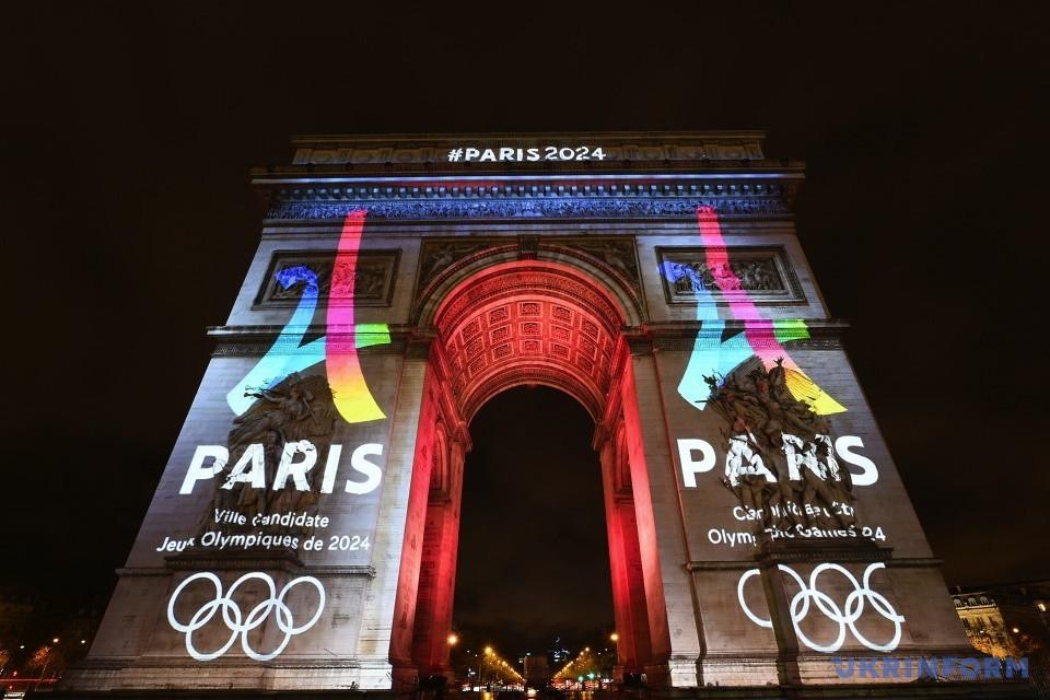 Париж презентував логотип олімпійської заявки на 2024 рік / Фото: Укрінформ