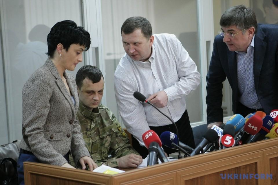 Розпочався суд у справі «азовця» Краснова