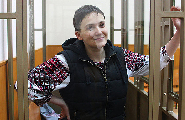 Надія Савченко / Фото: РІА Новости
