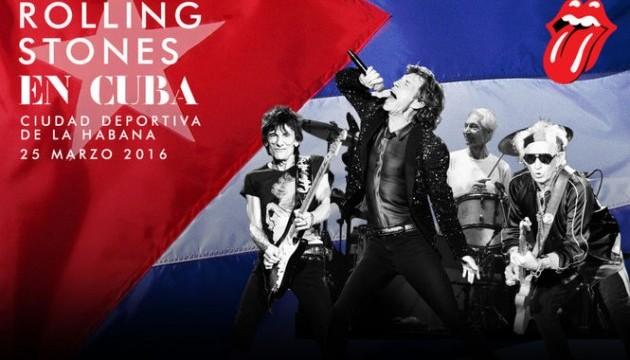 The Rolling Stones дадуть безкоштовний концерт на Кубі