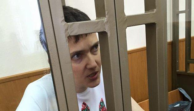 К Савченко не пустили маму, сестру и врачей