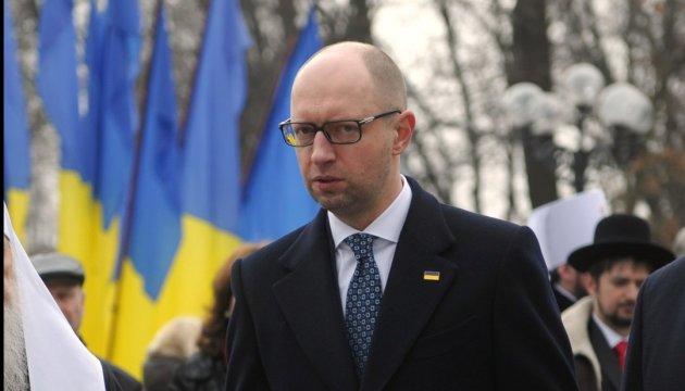 Яценюк: Безвізовий режим буде. Уряд зробив усе