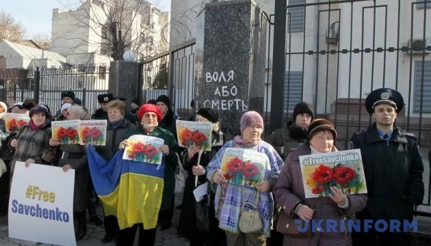 #FreeSavchenko: Тимошенко призывает к