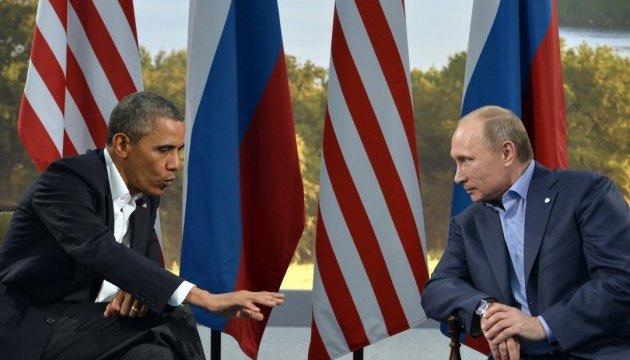 Обама обсудил с Путиным его заявления по Сирии и напомнил об Украине
