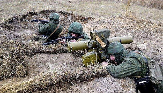 Бойовики стріляють по своїх позиціях – штаб АТО