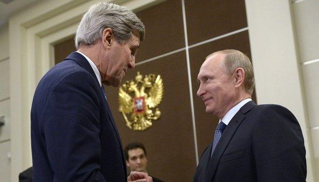 Сегодня Керри будет говорить с кремлевским фюрером об Украине