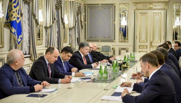 """Президент сподівається на формування нової коаліції впродовж """"днів або навіть годин"""""""