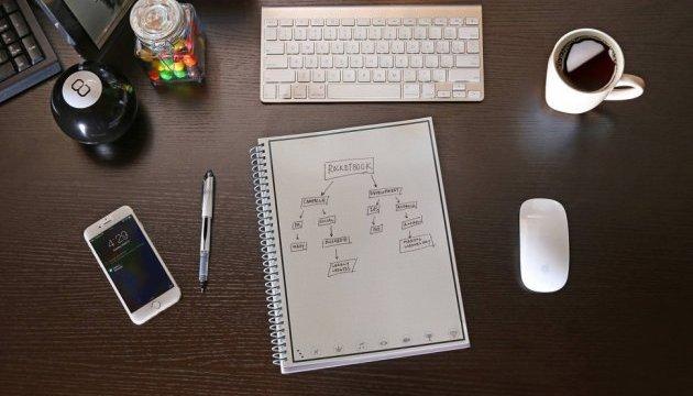 Створено «розумний» блокнот Pocketbook Wave