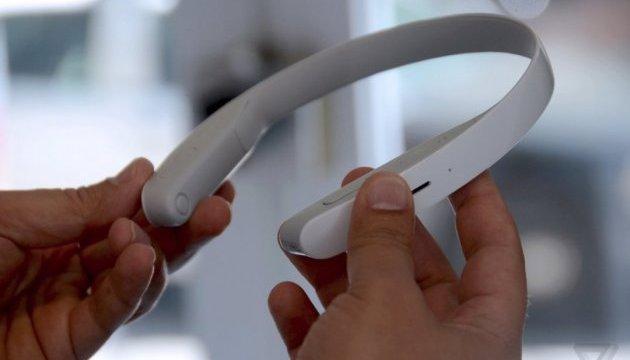 Sony представила навушники, які не потрібно надягати на вуха