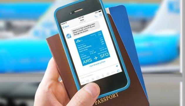Пасажири авіакомпанії KLM зможуть зареєструватися на рейс у Facebook Messenger
