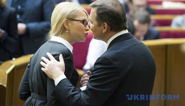 """У БПП кажуть, що не домовились із Тимошенко через її """"ліві"""" вимоги"""