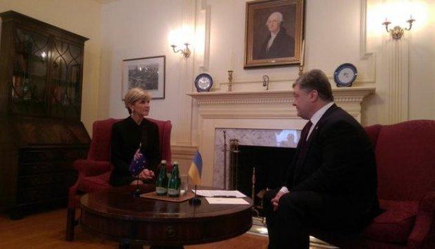 Україна й Австралія вимагають звільнення Савченко та покарання винних у загибелі MH-17