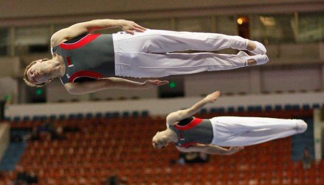 Українці стали призерами чемпіонату Європи зі стрибків на батуті