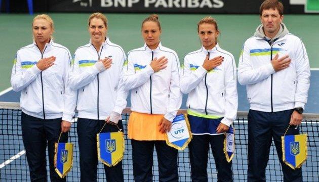 Теніс. Україна піднялася на 7 позицій в рейтингу Кубка Федерації