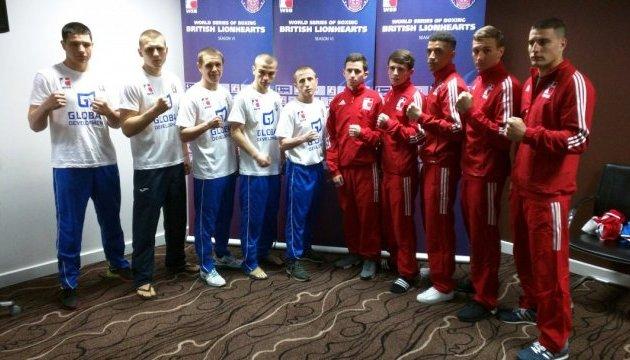 Англійці та українці назвали склади пар на матчі 1/4 фіналу WSB
