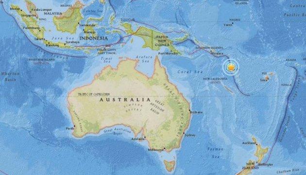 Мощное землетрясение на Вануату