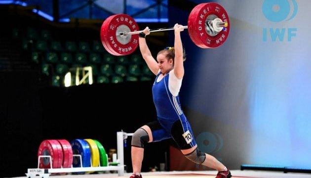Штангістка Ірина Деха - краща спортсменка квітня в Україні