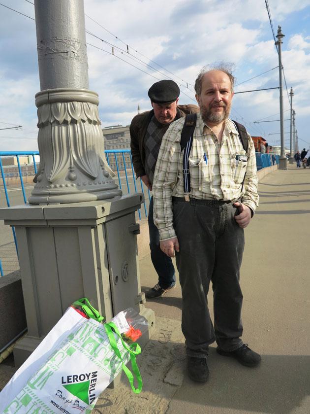 Волонтер, общественный активист Аркадий Коников