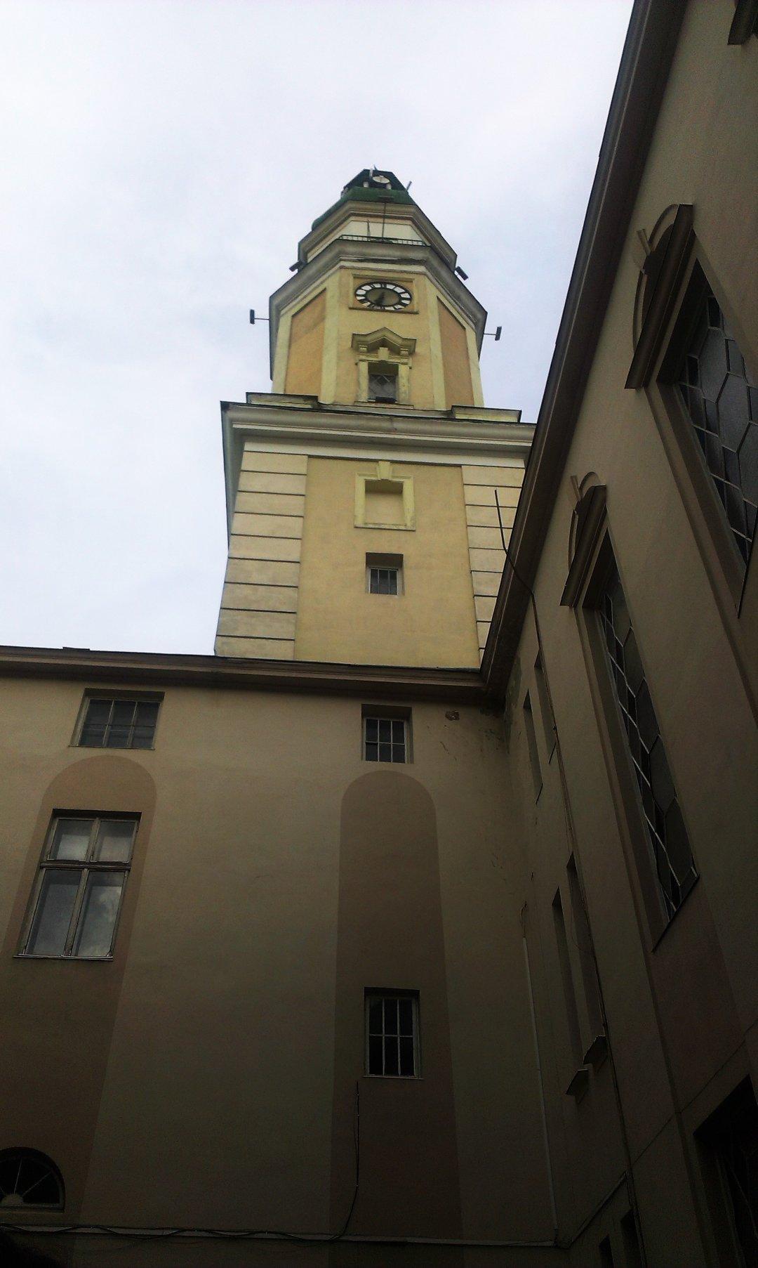 Ратуша Дрогобича з внутрішнього двору