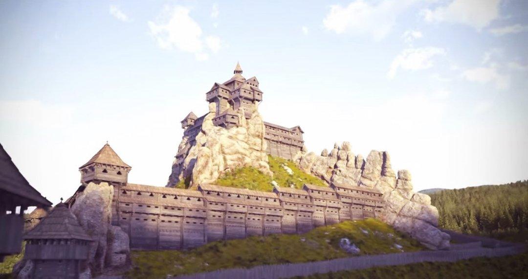 Так мала б виглядати фортеця