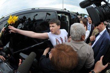 Савченко: Мир можливий тільки через війну