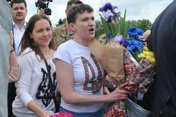 Савченко: Працюватиму, щоб з полону повернувся кожен