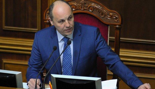 Парубій віддав комітету подання про притягнення Чауса