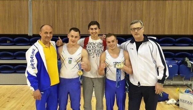 Українські гімнасти виграли 5 золотих медалей на етапі КС в Болгарії