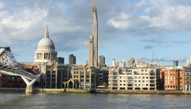 Перший у світі дерев'яний хмарочос може з'явиться в Лондоні