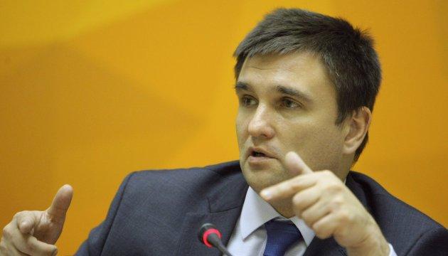 Климкин говорит, что есть понимание в необходимости полицейской миссии ОБСЕ