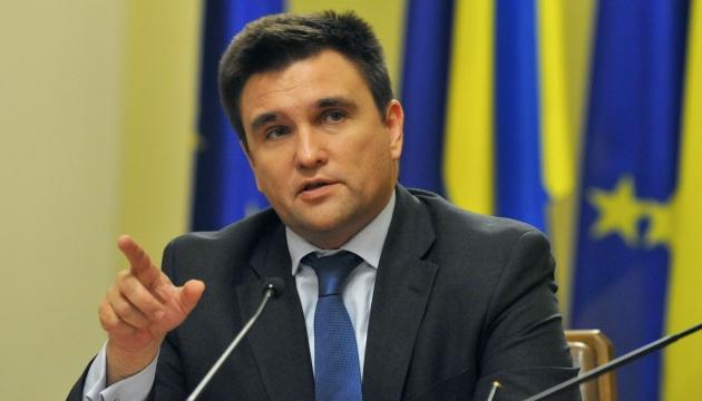 Клімкін нагадав, що стало першопричиною вторгнення РФ до України