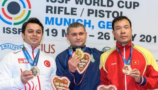 Мюнхен. Українські стрілки - треті в медальному заліку III етапу Кубка світу