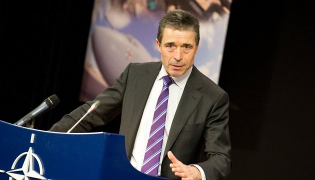 Rasmussen calls on US to provide Ukraine with lethal weapons