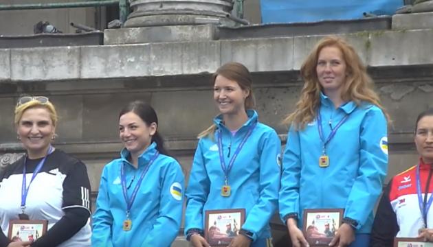 Украинки стали чемпионками Европы по стрельбе из классического лука