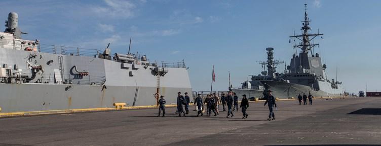 НАТО кораблі Естонія навчання Фото: Фото: Арди Халлисмаа/mil.ee