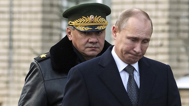 Сергей Шойгу, Владимир Путин / Фото: censoru.net